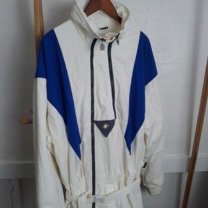 Vintage White Stag Snowsuit Bodysuit